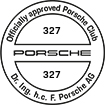 Officially approved Porsche Club 327